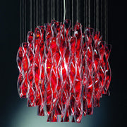 Red  Axo Light Aura SP60 pendant from Axo Light