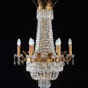 6 Light Empire Style Chandelier