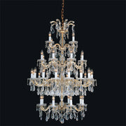 Maria Theresa large Swarovski Strass lead crystal chandelier