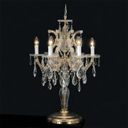Maria Theresa 6 light Swarovski crystal table lamp