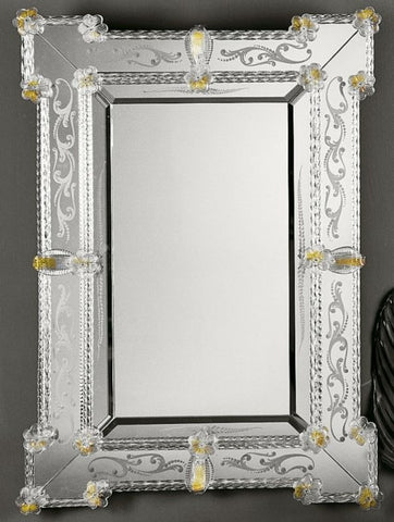Beveled 17th Century Venetian Mirror