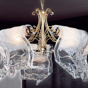 Beautiful ex display Murano glass ceiling light
