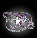 Futuristic Colourful Crystal Ceiling Pendant