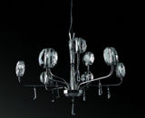 Optical Crystal Glass Chandelier