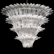 1990s style Murano glass palm chandelier in custom sizes