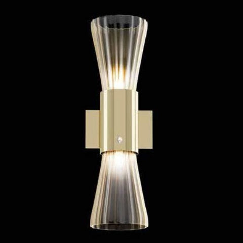 Beautiful Mid Century Murano Glass Single Wall Light by Beby