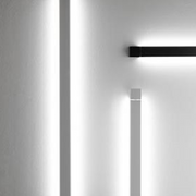 Pivot F39 grey or white wall lights from Fabbian