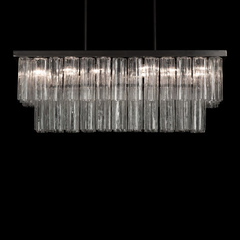 Rectangular Tronchi Chandelier