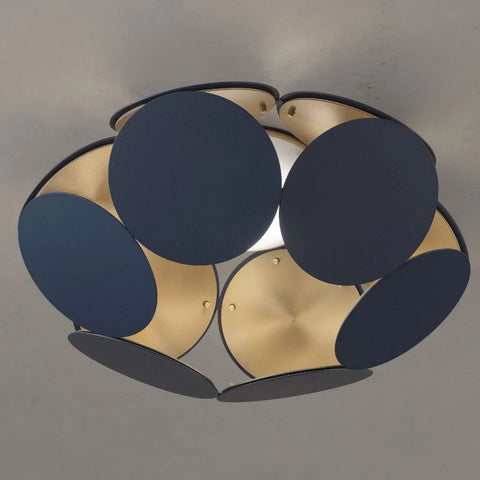 Customizable Metal Disc Ceiling Light