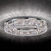 Modern Round Crystal Ceiling Light