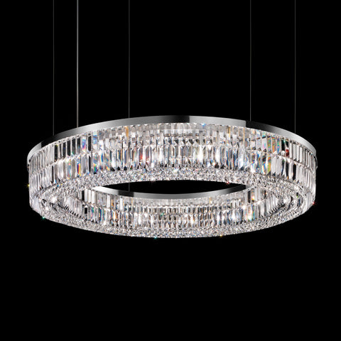 Beautiful Crystal Round Ceiling Pendant