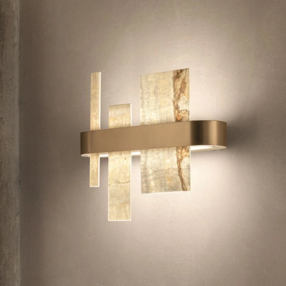 Beautiful Geometric Modern Wall Light Italian Lighting Centre