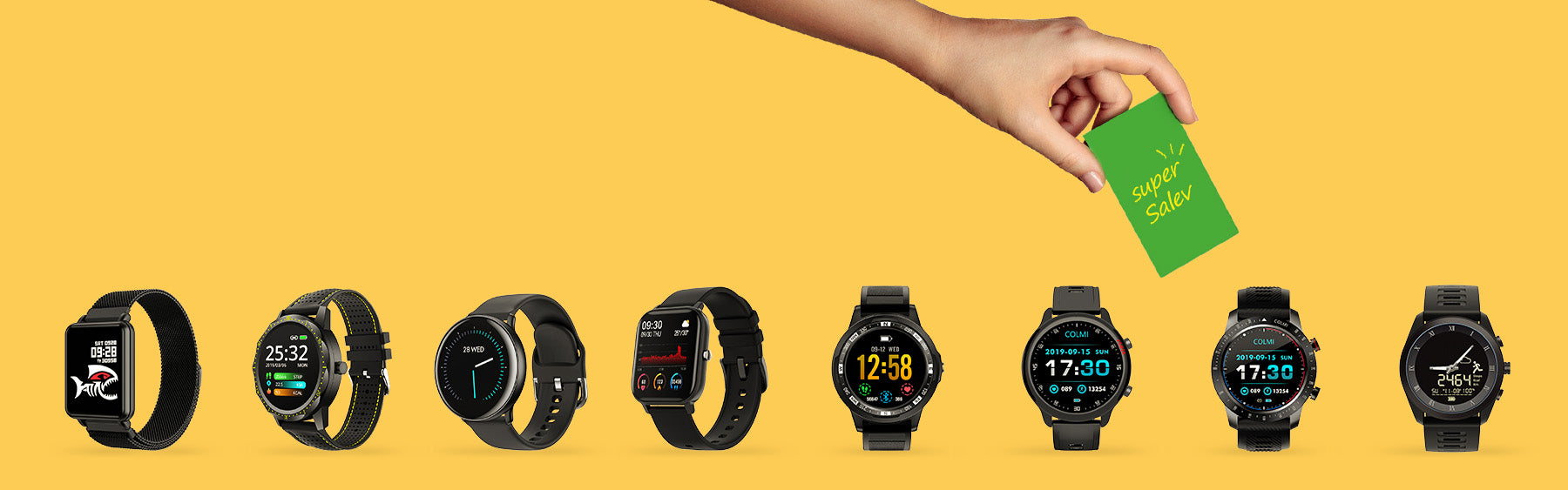 Wholesale COLMI smart watch