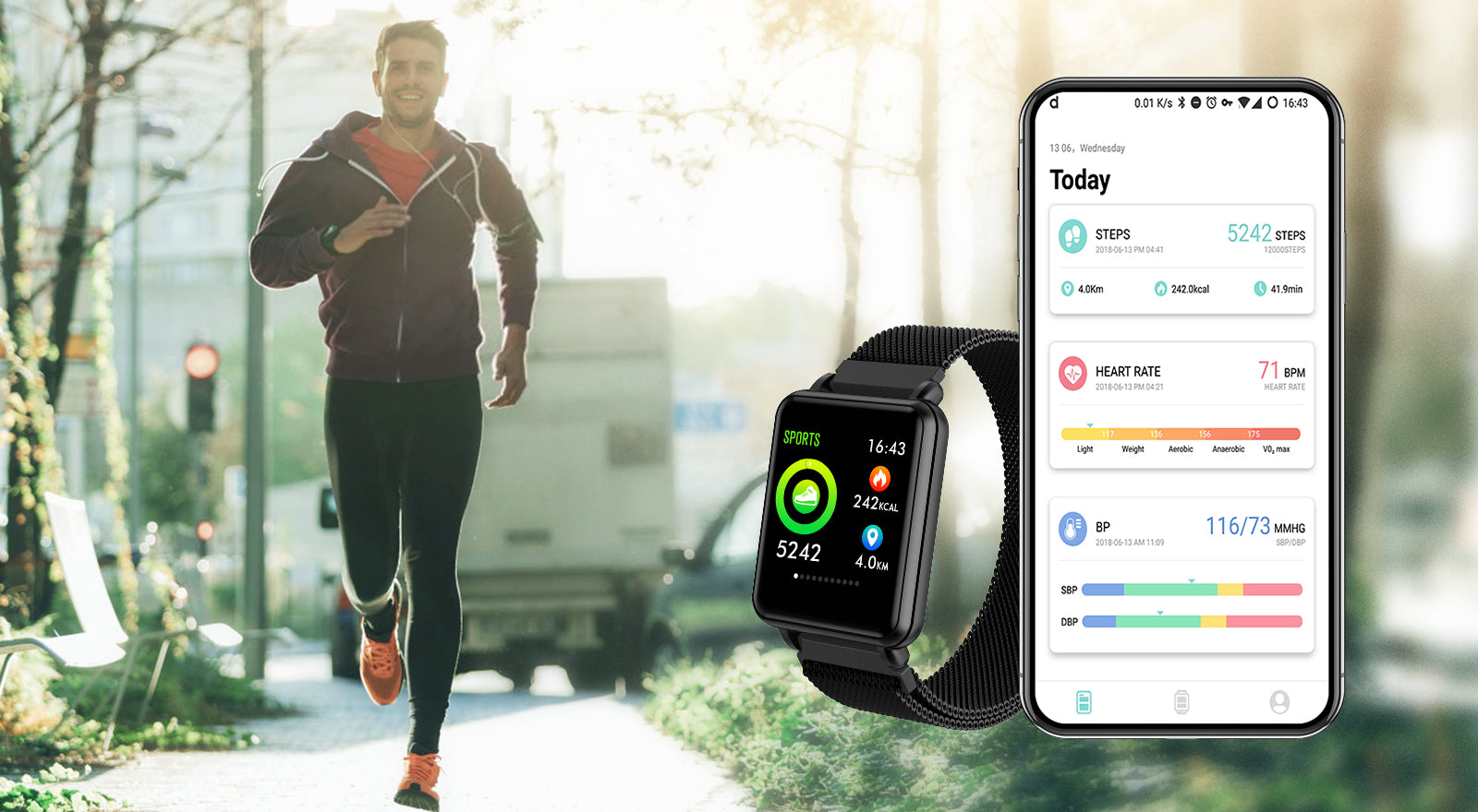 COLMI Land 1 Smartwatch & Fitness Tracker