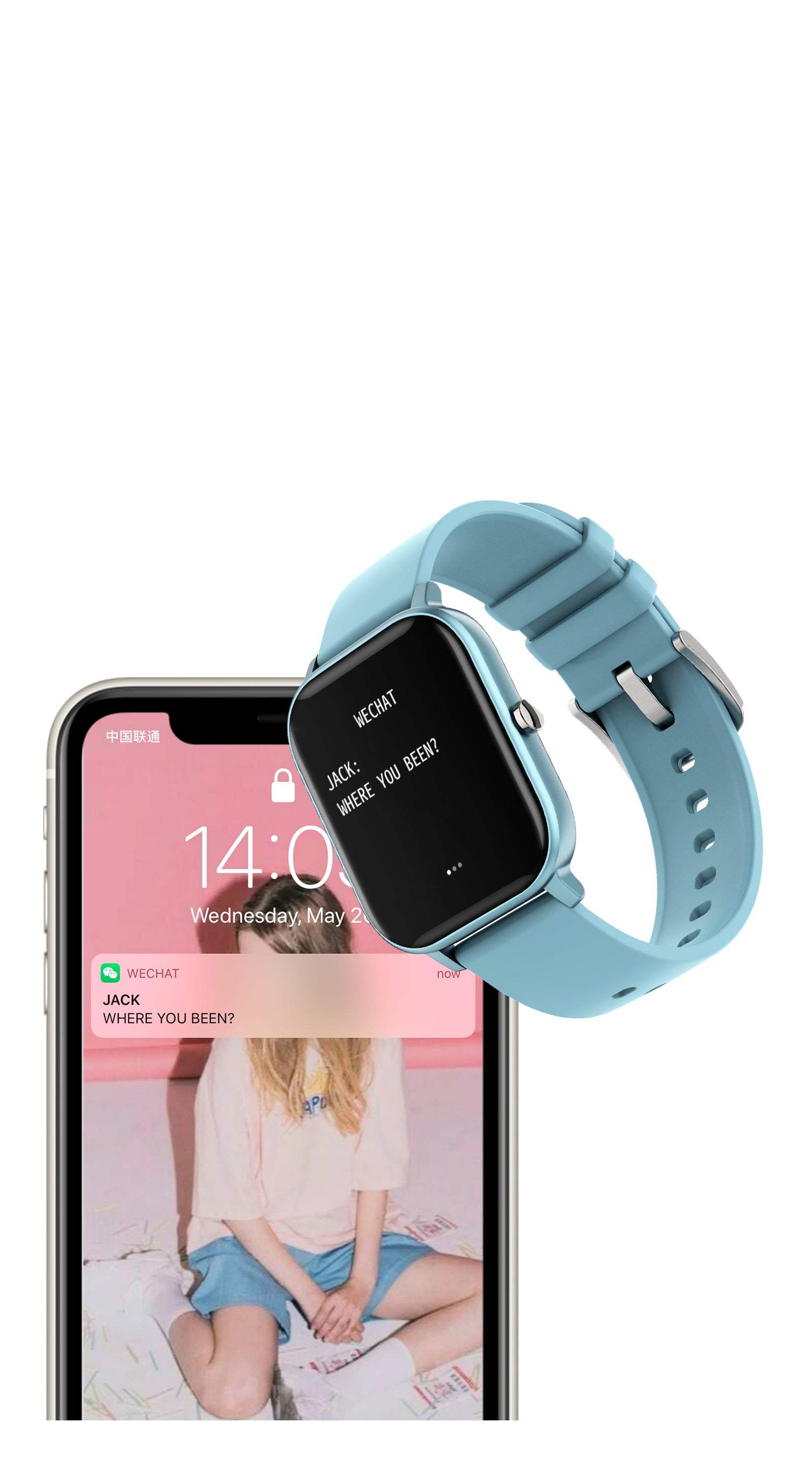 COLMI P8 Pro Smart watch Smart Features - mobile