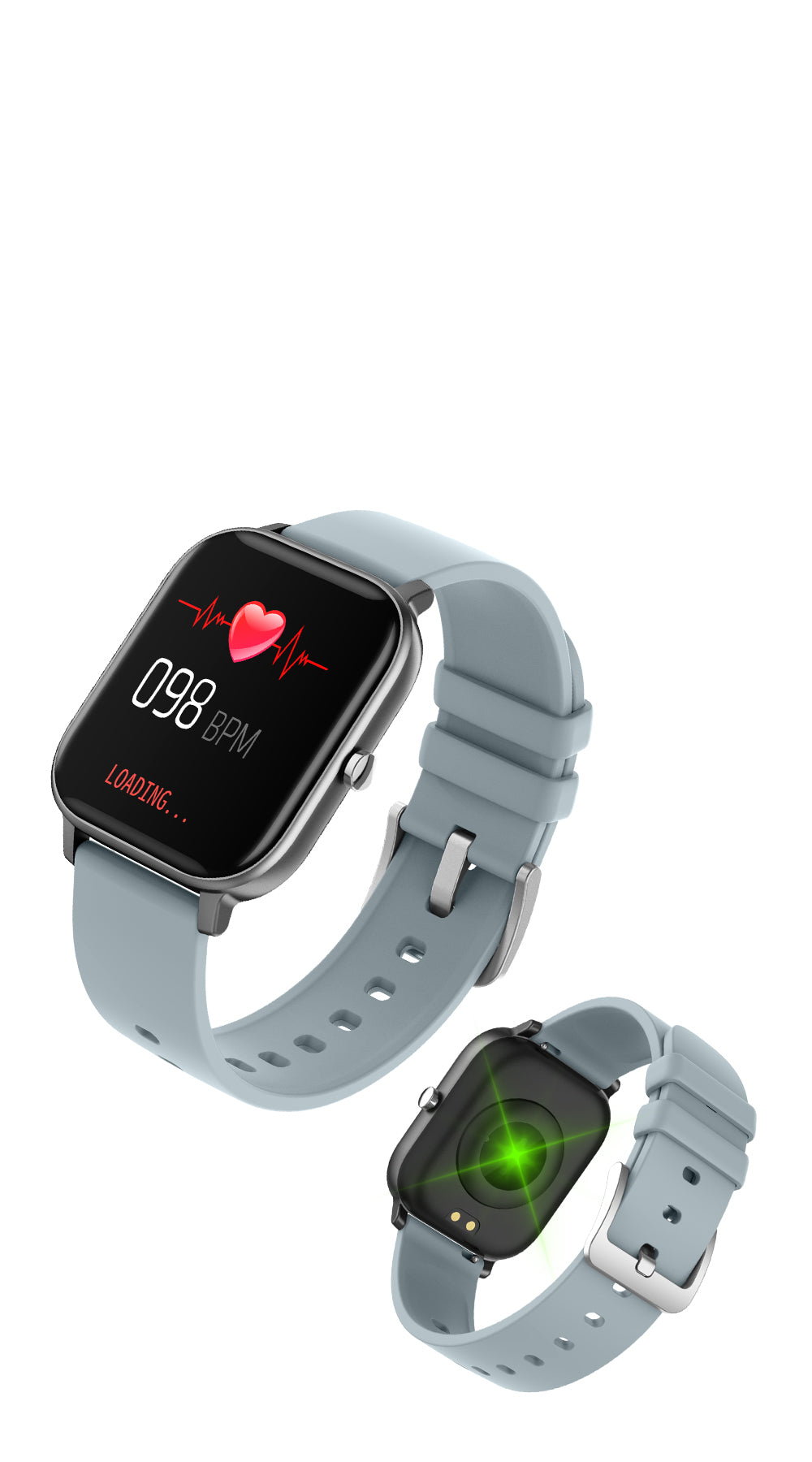 COLMI P8 Smart watch Heart Rate Tracking - mobile