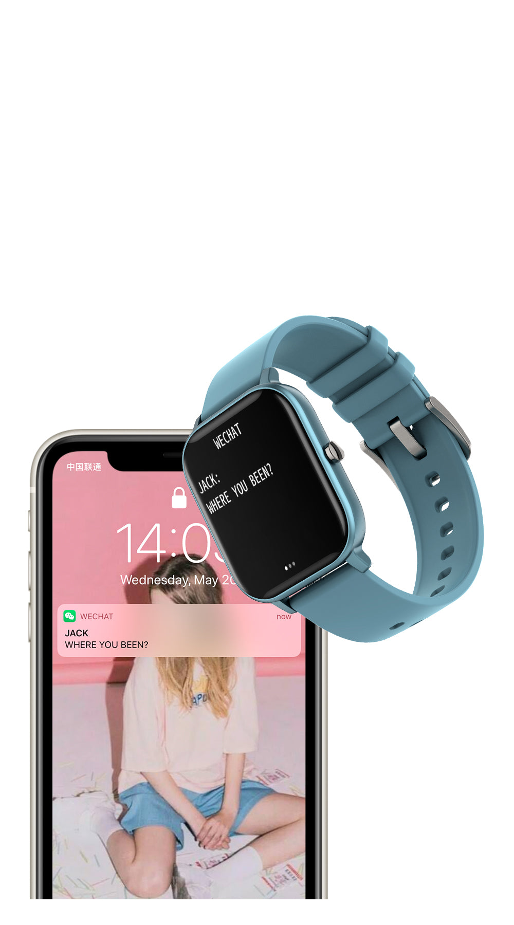 COLMI P8 Smart watch Smart Features - mobile