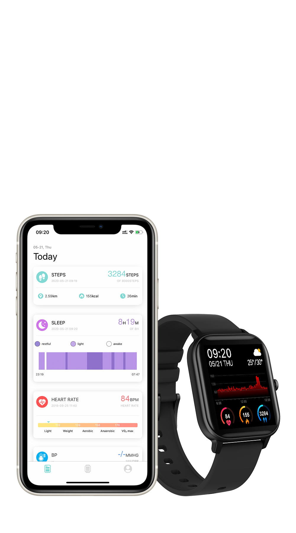 COLMI P8 Smart watch app - mobile