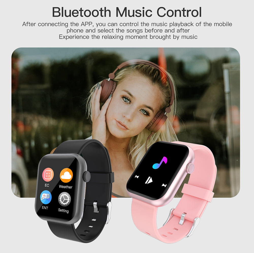 COLMI P9 Smart Watch Men Woman Smartwatch Jogos integrados IP67 à prova d 'água Heart Rate Sleep Monitor para huawei xiaomi apple phone