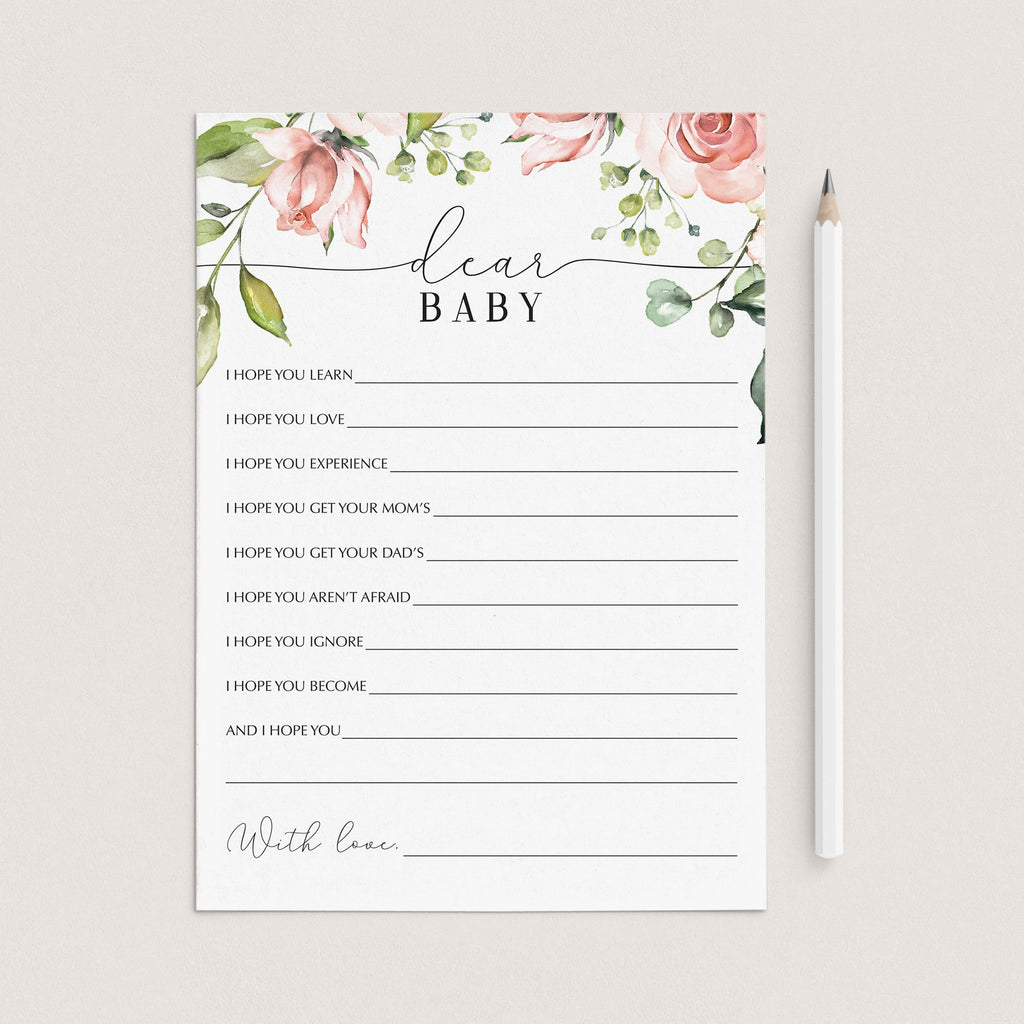 Garden theme baby shower games printable by LittleSizzle