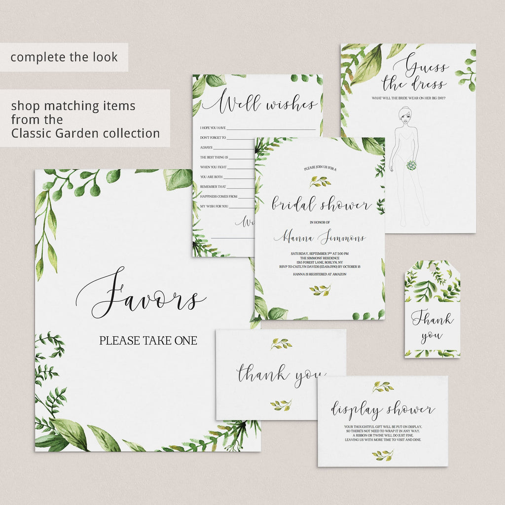 greenery bachelorette party games ideas instant download
