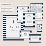 Nautical baby shower printable games by LittleSizzle