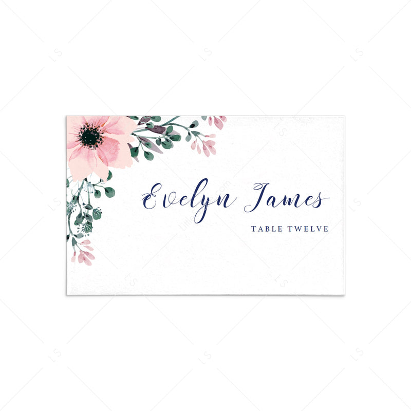 Table Signs Printable Decorations Shower Decor DIY Place Cards Place Cards P07 Elegant Printable Place Cards