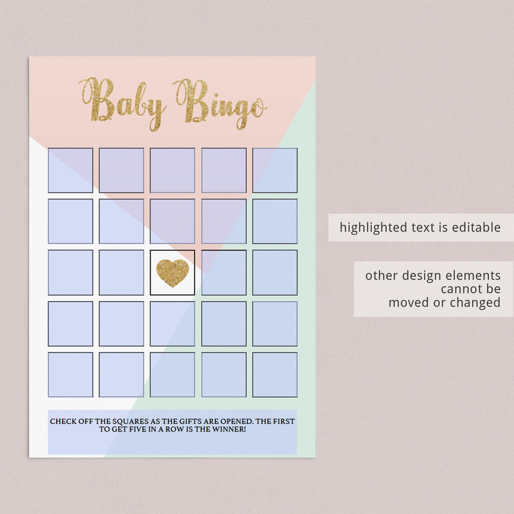 Baby girl shower printable games by LittleSizzle