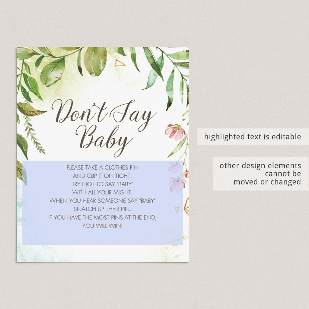 Fun and creative baby shower games instant download by LittleSizzle