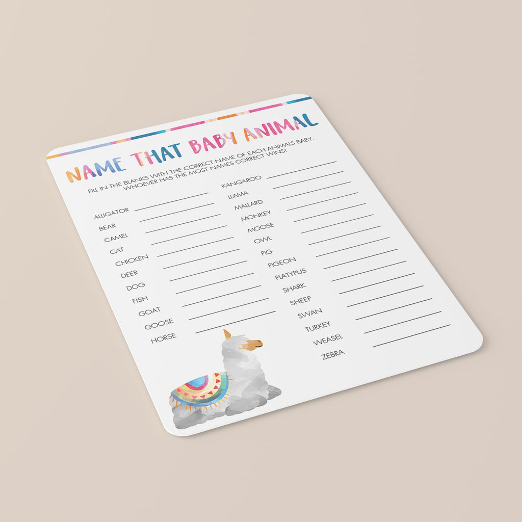 Summer baby shower games by LittleSizzle