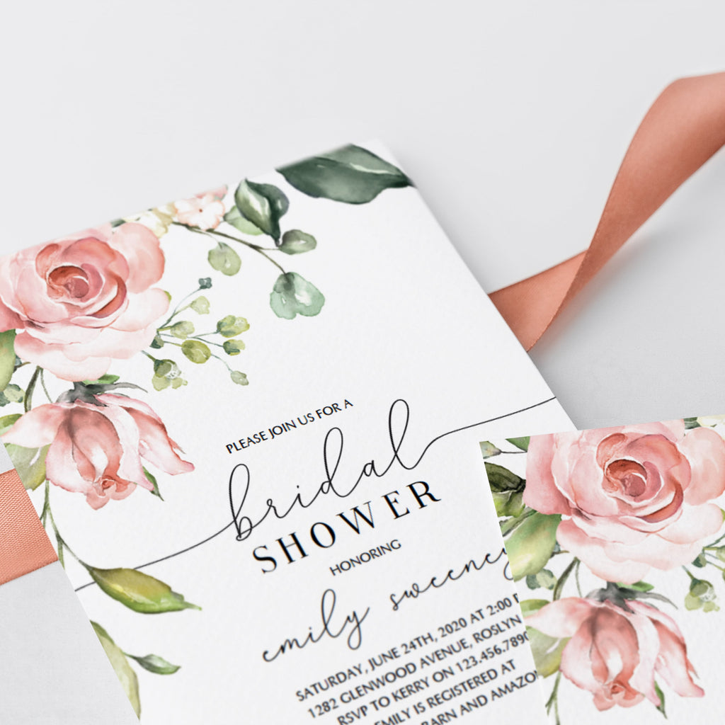 Floral-bridal-shower-invitations-template-printable