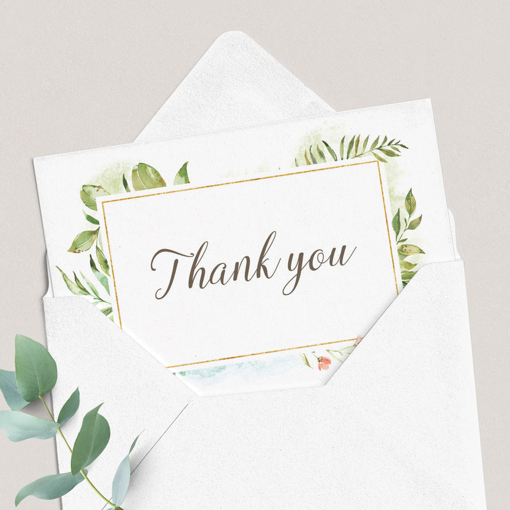 Thanks for coming card pink and green by LittleSizzle