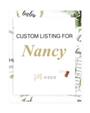 Custom listing for Nancy