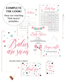 Mint and pink baby shower ideas by LittleSizzle