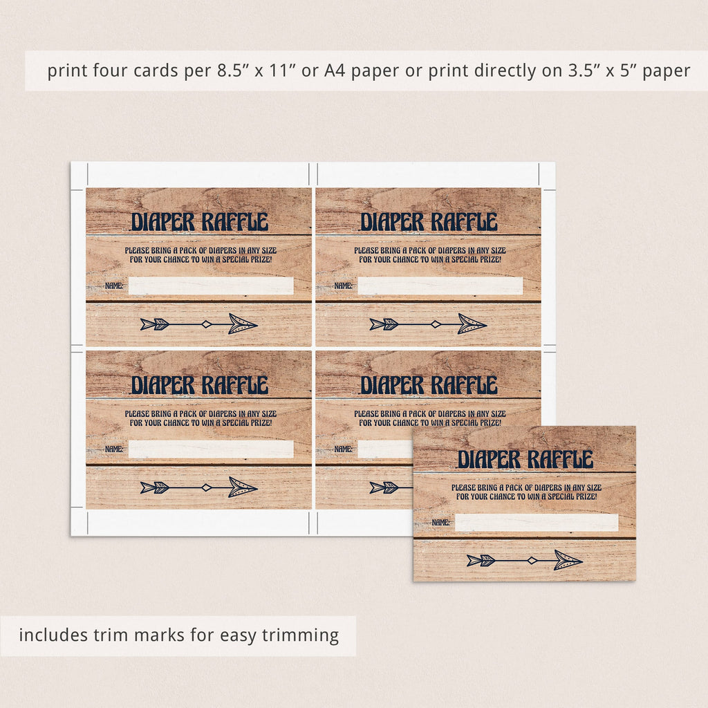 Woodland Baby Shower Invitation Set Template