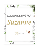 Custom listing for Suzanne