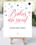Take a treat baby girl shower printable by LittleSizzle
