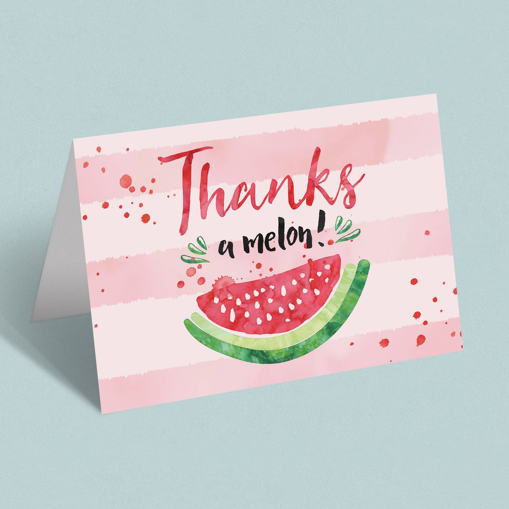 Summer Party Thank You Cards