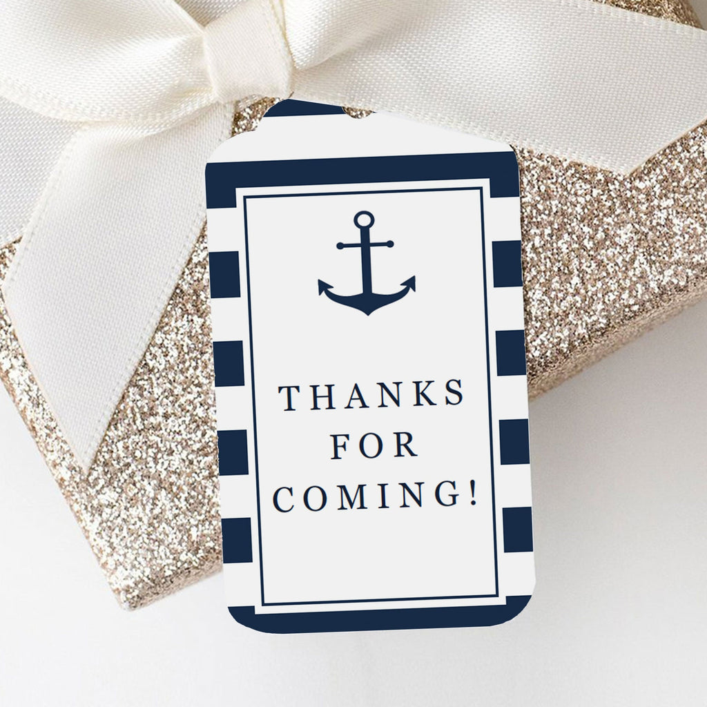 Nautical theme gift labels  by LittleSizzle