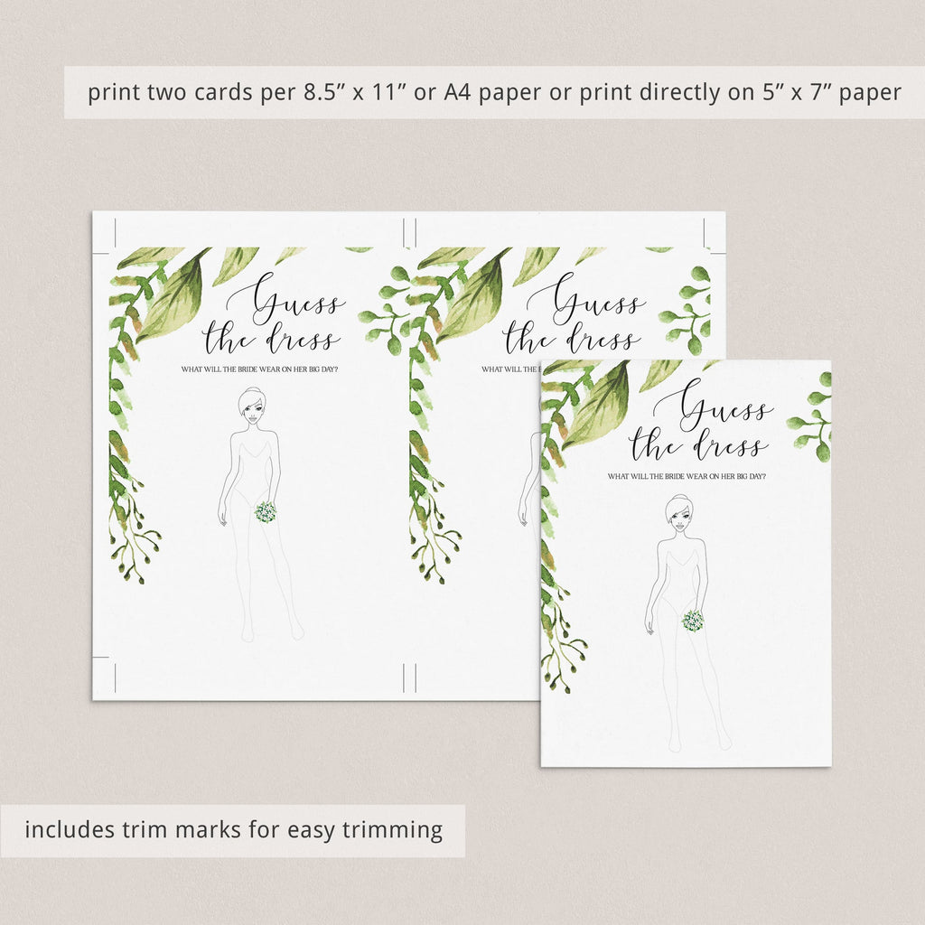 say yes to the dress bridalshower games instant download