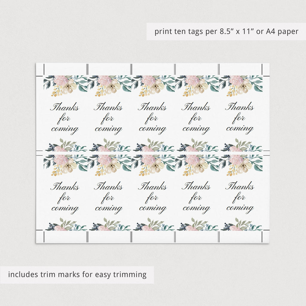 Whimsical Party Supplies Pack Instant Download