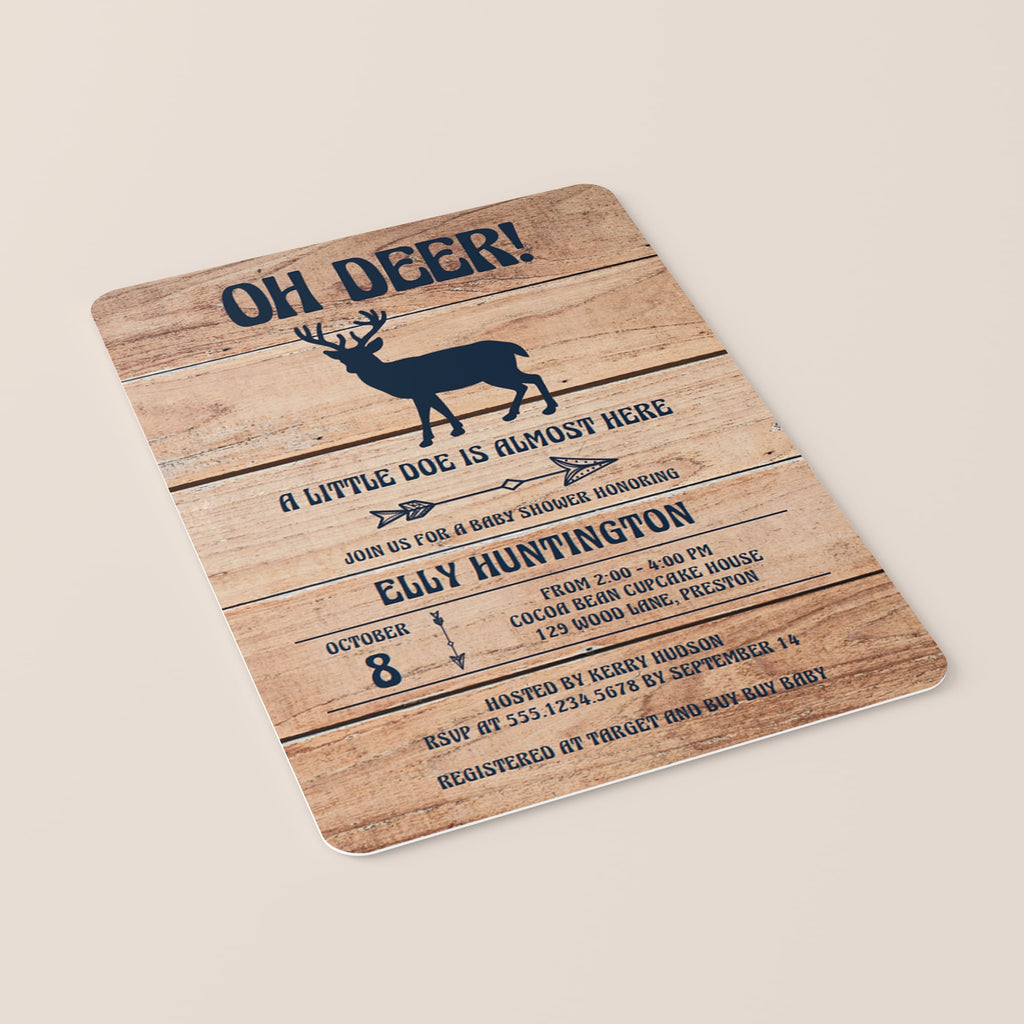 Oh Deer baby shower ideas by LittleSizzle