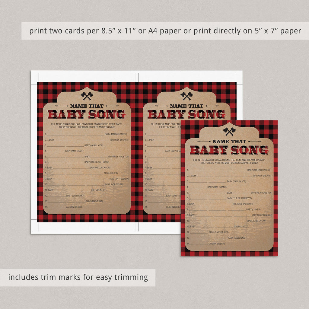 Printable baby boy shower game and answer sheets by LittleSizzle