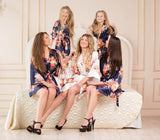 Silk Bridesmaid Robes- Bridesmaid Gifts