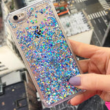 Custom Name Liquid Holographic Glitter iPhone Case