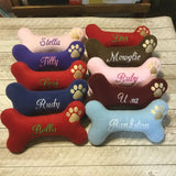 Personalized Dog Toy- Large with Squeaker
