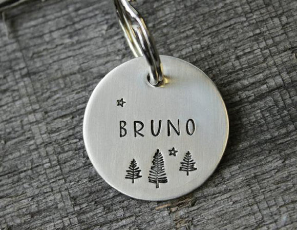 Dog tag personalized for your pet - Gift idea