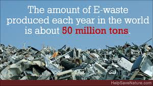 HELP THE ENVIRONMENT BY DONATING TO THE E-WASTE FOUNDATION!