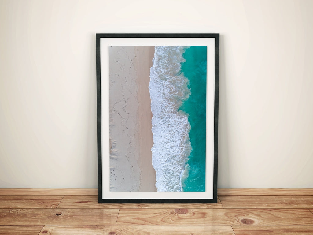Beach Print | Wall Art Prints, Wall Decor, Aerial Photo | AM Photo Co