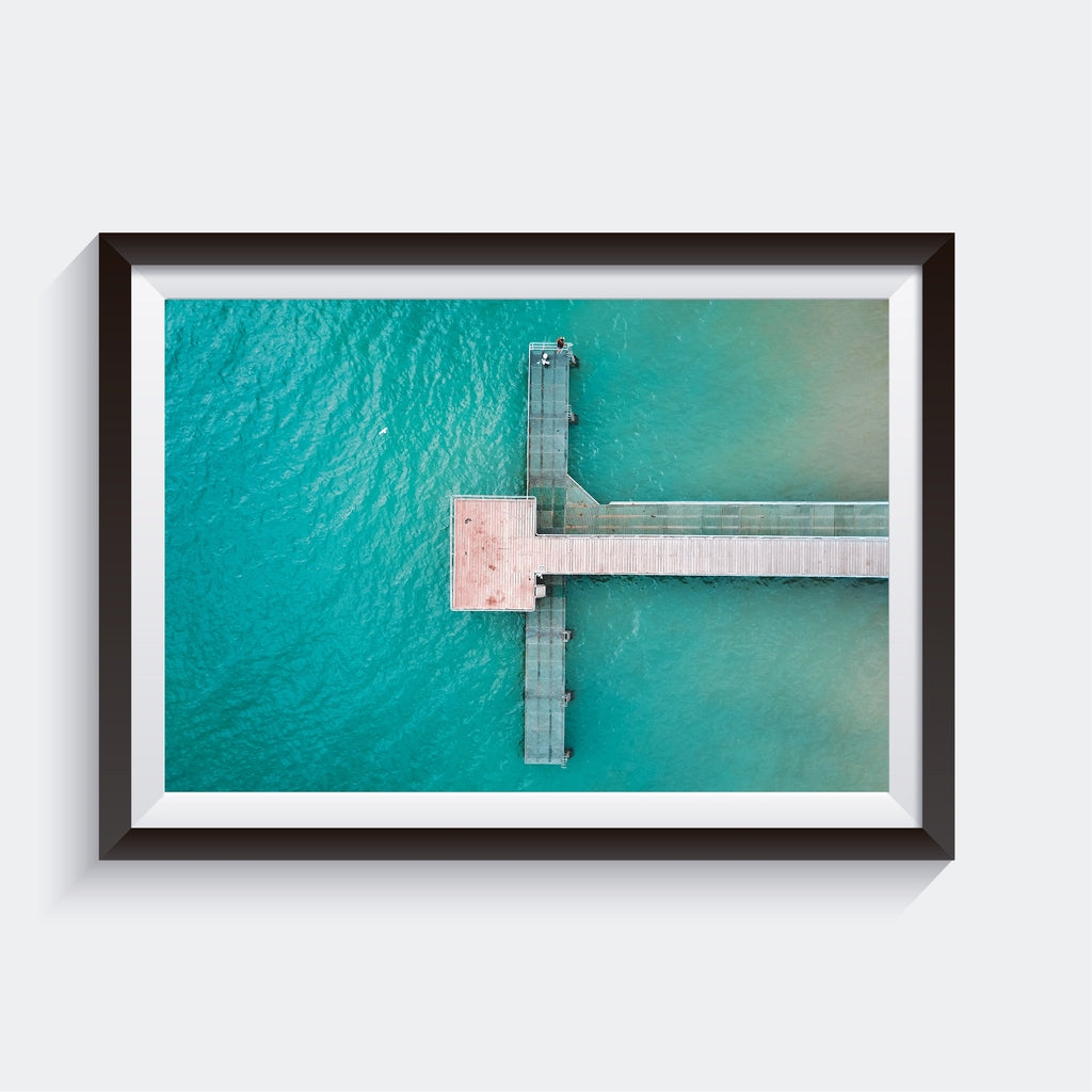 Wall Art Print, Coogee Jetty, Home Decor, Western Australia | AM Photo Co